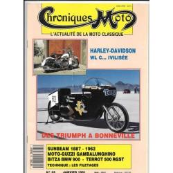 CHRONIQUES MOTO n° 25 JANVIER 1991