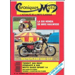 CHRONIQUES MOTO n° 26 FEVRIER 1991