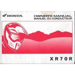 HONDA XR 70 R de 2002