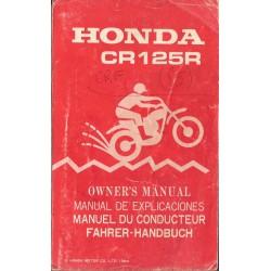 HONDA CR 125 R de 1985