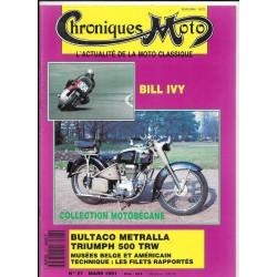 CHRONIQUES MOTO n° 27 MARS 1991