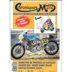 CHRONIQUES MOTO n° 29 MAI 1991