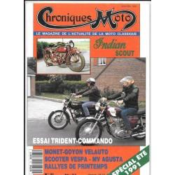 CHRONIQUES MOTO n° 31 SPECIAL ETE 1991