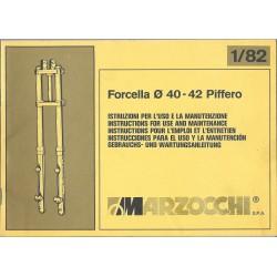 Manuel utilisation et entretien MARZOCCHI 40-42 (05 /1982)