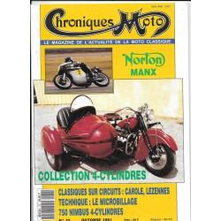 CHRONIQUES MOTO n° 32 OCTOBRE 1991