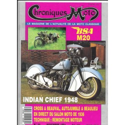 CHRONIQUES MOTO n° 33 NOVEMBRE 1991