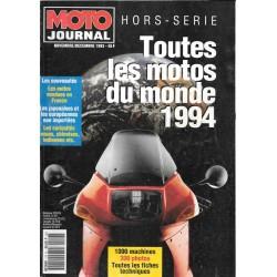 moto journal toutes les motos du monde 1994