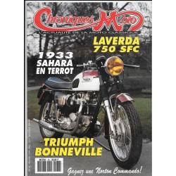 CHRONIQUES MOTO n° 36 FEVRIER 1992