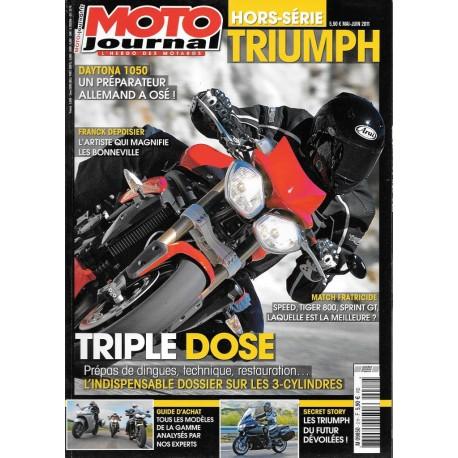 moto journal spécial TRIUMPH 2011