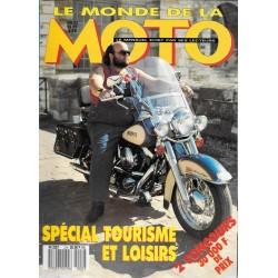 MONDE de la MOTO Spécial Tourisme et loisirs 1987