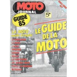 MOTO-JOURNAL GUIDE DE LA MOTO 1985