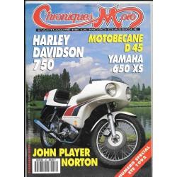 CHRONIQUES MOTO n° 42 JUILLET / AOUT 1992 Spécial Eté