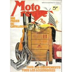 moto revue spécial accessoires 15 / 12 / 1977