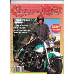 CHRONIQUES MOTO n° 43 SEPTEMBRE 1992