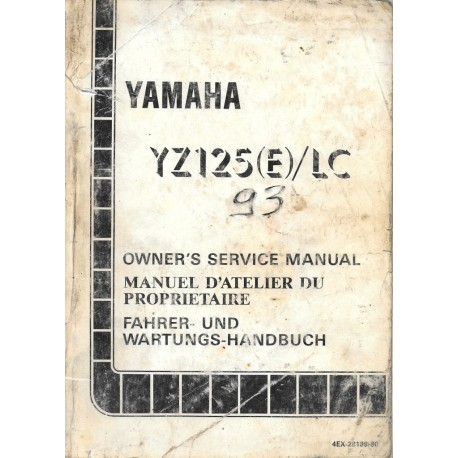 YAMAHA YZ 125 (E) / LC 1993