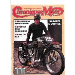 CHRONIQUES MOTO n° 44 OCTOBRE 1992