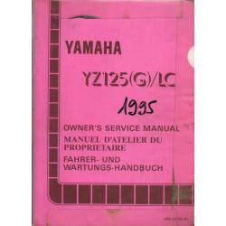 YAMAHA YZ 125 (G) / LC 1995