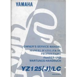 YAMAHA YZ 125 (J) / LC 1997