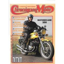 CHRONIQUES MOTO n° 45 NOVEMBRE 1992