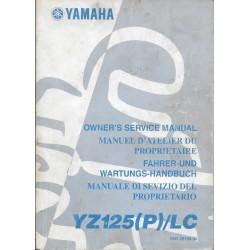 YAMAHA YZ 125 (P) / LC 2002