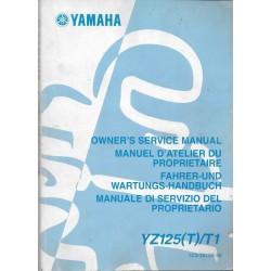 YAMAHA YZ 125 (T) / T1 2005
