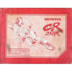 HONDA CR 250 R type KZ3 de 1995