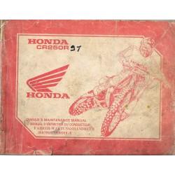 HONDA CR 250 R type KZ3 de 1991