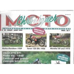 CHRONIQUES MOTO n° 50 JUILLET / AOUT 1993