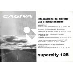 CAGIVA SUPERCITY 125 de 1998