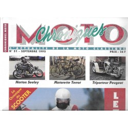 CHRONIQUES MOTO n° 51 SEPTEMBRE 1993
