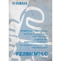 YAMAHA YZ 250 (M) type 5HC de 2000