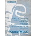 YAMAHA YZ 250 (M) / LC 2000 type 5HC