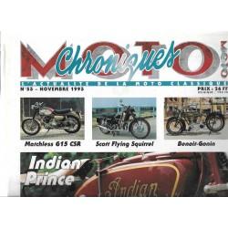CHRONIQUES MOTO n° 53 NOVEMBRE 1993