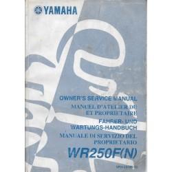 YAMAHA WR 250 F (N) de 2001 type 5PH