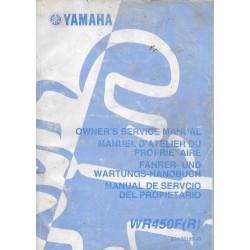 YAMAHA WR 450 F (R) type 5TJ de 2003