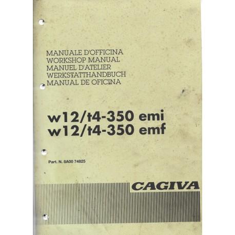CAGIVA W12 / T4-350 EMI et EMF de 1995