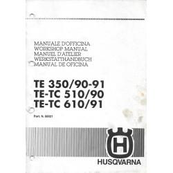 HUSQVARNA TE 310 / 510 / 610 1990-1991
