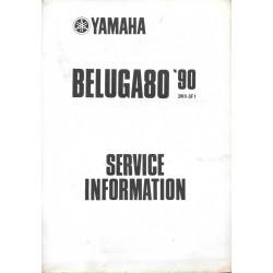 YAMAHA BELUGA 80 cc de 1990 type 3WX