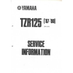 YAMAHA TZR 125 de 1987 / 1990 type 2RH