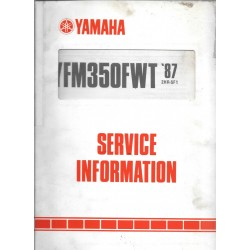YAMAHA YFM 350 FWT de 1987 type 2HR