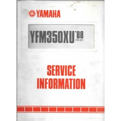 YAMAHA YFM 350 XUde 1988 type 2XK