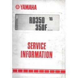 YAMAHA RDLC 350 F de 1985-1986 type 57V