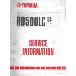 YAMAHA RD 500 LC de 1984-85 type 47X