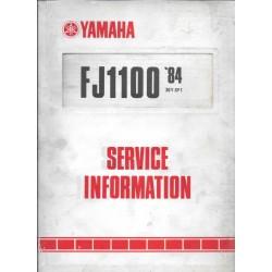 YAMAHA FJ 1100-1200 de 1984-1991 tous types
