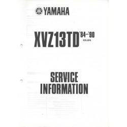 YAMAHA XVZ13TD de 1984 à 1991