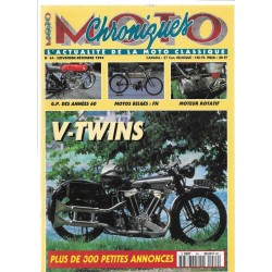 CHRONIQUES MOTO n° 64 NOVEMBRE / DECEMBRE 1994