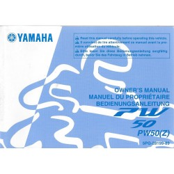 YAMAHA PW 50 (Z) type 5PG de 2009