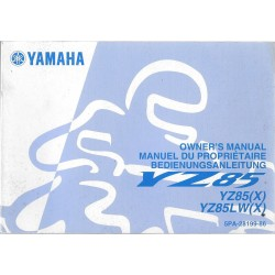 YAMAHA YZ 85 (X) type 5PA de 2007