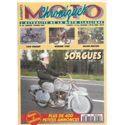 CHRONIQUES MOTO n° 65 JANVIER / FEVRIER 1995