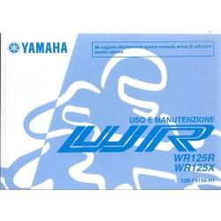 YAMAHA WR 125 R et X de 2010 type 22B